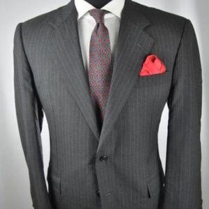 Hickey Freeman 2Btn Loro Piana Suit + ZEGNA Tie